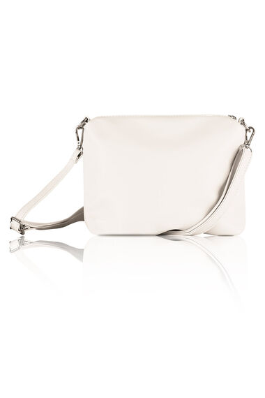 Kris-Ana Polished Detail Shoulder and Inner Cross Body Bag