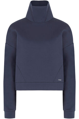 NVC Activewear Funnel Neck Sweatshirt