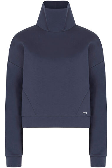 NVC Activewear Funnel Neck Sweatshirt