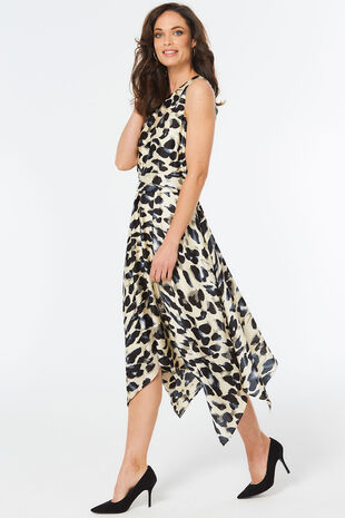 Animal Hanky Hem Dress