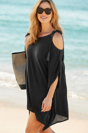 Plain Overhead Shoulder Kaftan