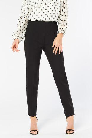 Tapered Leg Side Zip Trouser