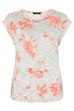 Floral Printed Snit Sweat