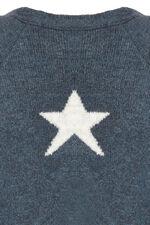 Cosy Star Intarsia Cardigan