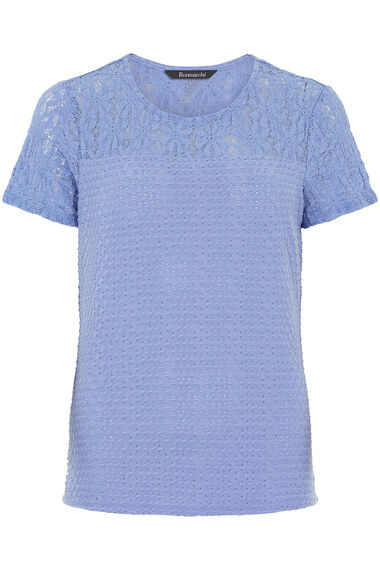 Textured Lace Top