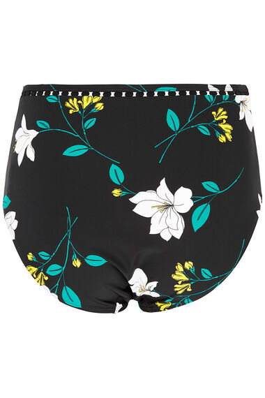Floral High Waisted Brief