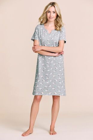 Sheep Print Nightshirt