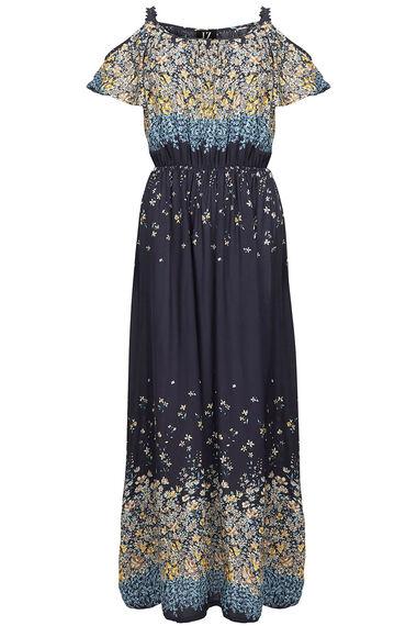 Izabel Cold Shoulder Maxi Dress