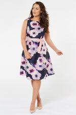 Printed Prom Dress