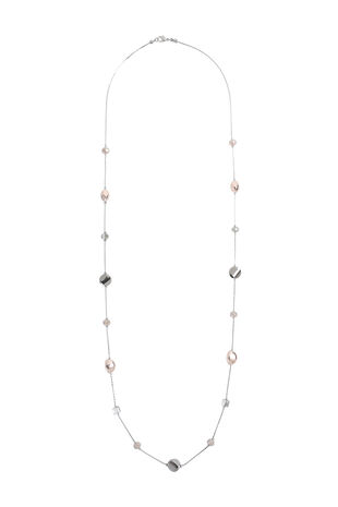 Muse Multi Bead Station Necklace