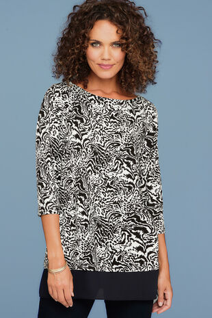 Short Sleeve Animal Tunic
