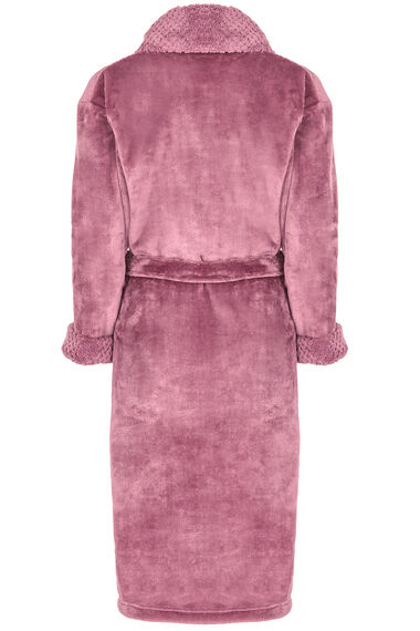 Pink Shimmer Fleece Robe