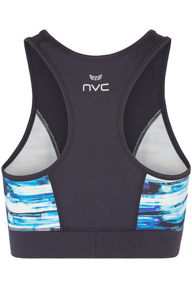 NVC Activewear Panelled Racer Back Sports Bra