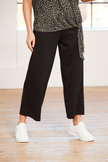 NVC Activewear Cropped Jersey Trouser