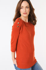 Button Shoulder Jumper