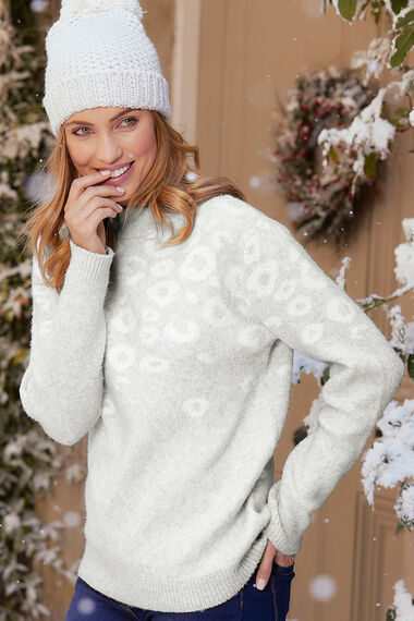 Animal Jacquard Jumper