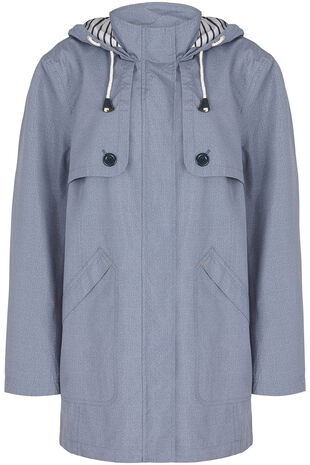 Chambray Waterproof Jacket