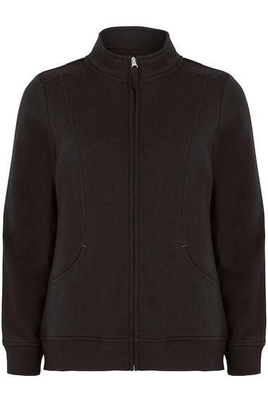 Funnel Neck Zip Through Jacket