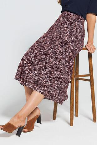 Grace By Eda Pebble Print Skirt