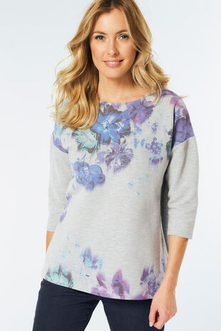 Watercolour Print Sweat