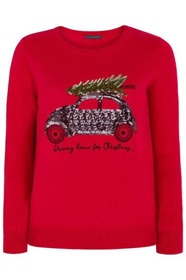 Driving Home For Christmas' Jumper