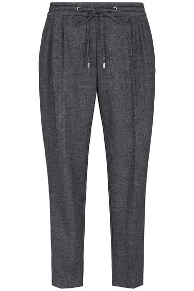 Salvari Pull On Flannel Trouser