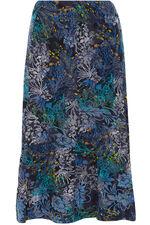 Flock Printed Skirt