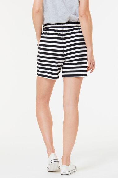Stripe Jersey Short