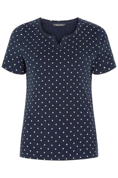 Scoop Star Print T-Shirt