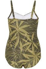 Palm Foil Print Swimsuit