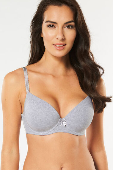 2 Pack Underwired T Shirt Bra