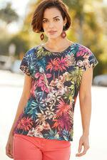 Tropical Print T-Shirt