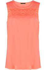 Lace Detail Vest Top