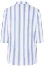 Stripe Linen Blend Shirt