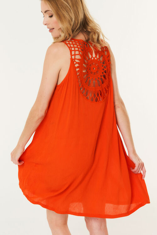 Crochet Back Sundress