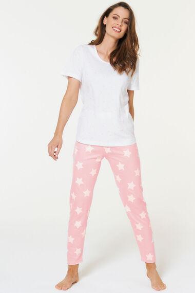 Star Print Pyjama Set