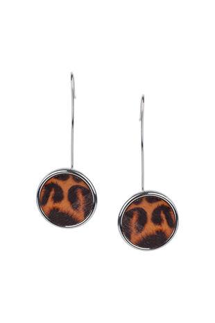 Muse Leopard Stick Drop Earring