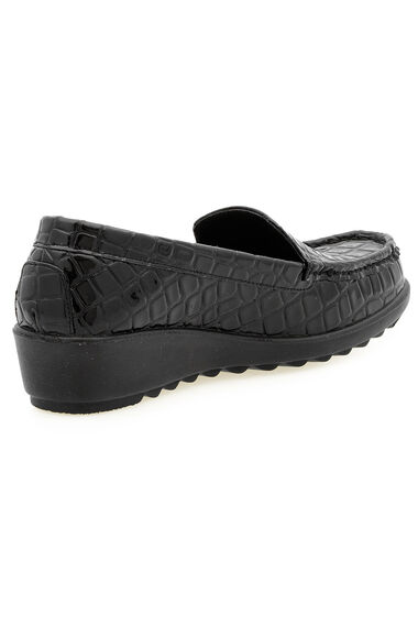 Cushion Walk Mock Croc  Slip on Shoe