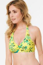 Knot Front Halterneck Bikini Top