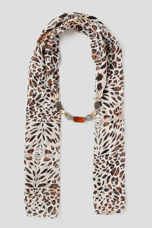 scarves for women lightweight ladies scarves bonmarchémuse leopard print jewellery scarf