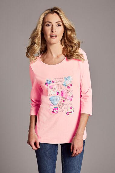 Cake Recipe Print T-Shirt