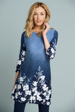 Stella Morgan Border Print Tunic