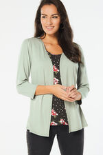 2 in 1 Patchwork Jersey Top