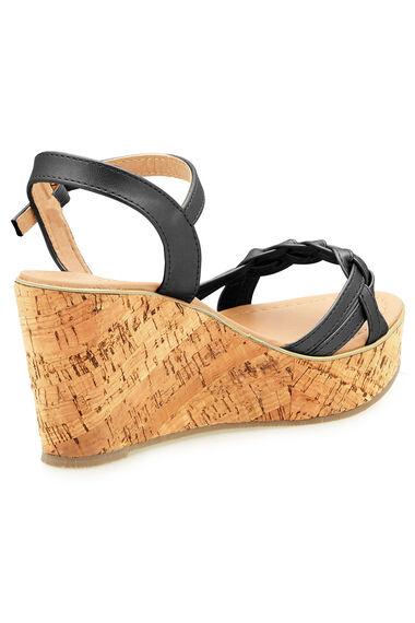 Maya Grace Platform Wedge Sandal