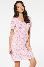 Dragonfly Spot Print Nightdress