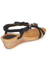 Cushion Walk Diamante Sandal