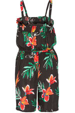 Tropical Shirred Playsuit