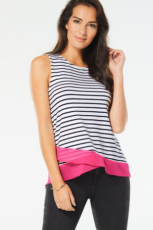 Stella Morgan Stripe Vest
