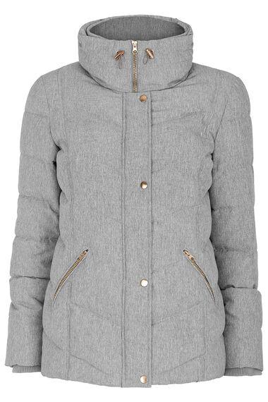 Textured Padded Jacket