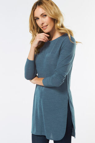 Longline Tunic with Side Splits